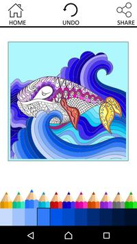 Coloring Book For Adults screenshot 9