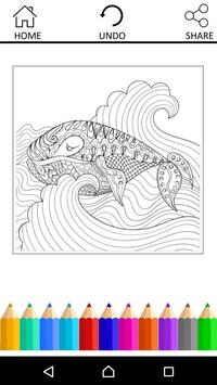 Coloring Book For Adults screenshot 11