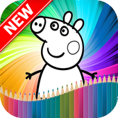 Peppa Pig Coloring Book icon