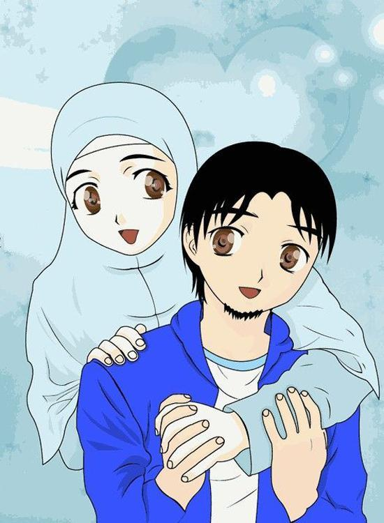 410 Koleksi Gambar Kartun Muslimah Download HD Terbaru