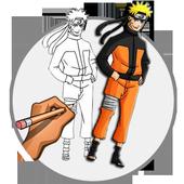 Cartoons drawing icon