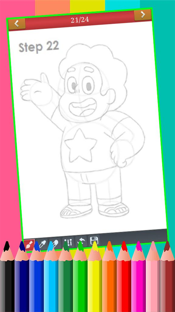 Learn How To Draw Cartoons Network Characters Free For Android