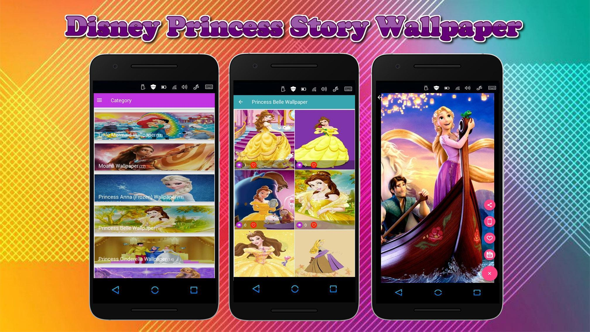 Disney Princess Story Wallpaper For Android Apk Download