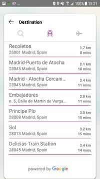Renfe Viajes Transfers screenshot 3