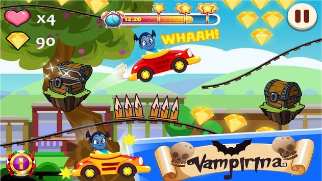Vampirn Car Racing screenshot 3