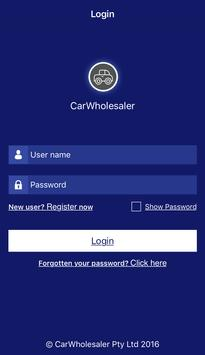 CarWholesaler poster