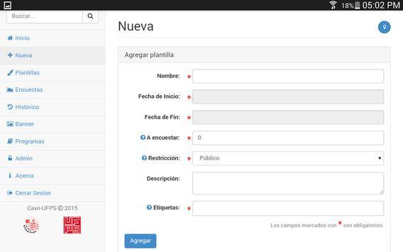 Cawi-UFPS apk screenshot
