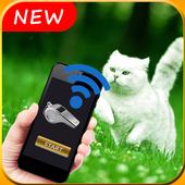 Cat Whistle Sound, Anti Cat & Cat Trainer icon
