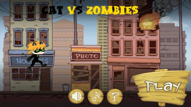 Cat vs Zombies apk screenshot