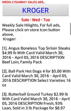 Weekly Sale Ads For 60 stores, Sales ads Links apk screenshot