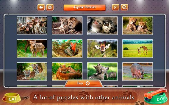 Cats and Dogs Jigsaw Puzzles screenshot 9