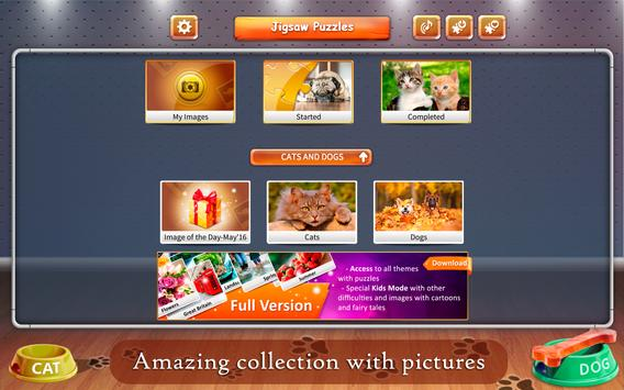 Cats and Dogs Jigsaw Puzzles screenshot 13