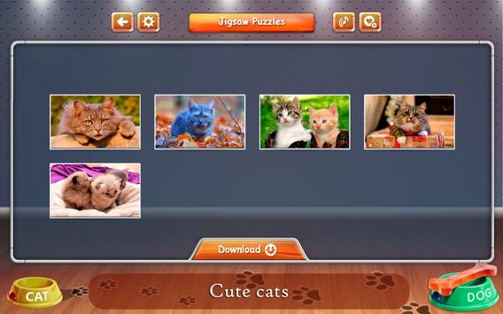 Cats and Dogs Jigsaw Puzzles screenshot 2