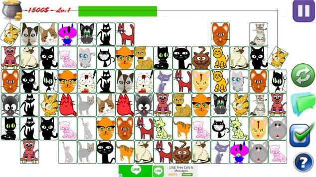 Cat Link Match Game apk screenshot