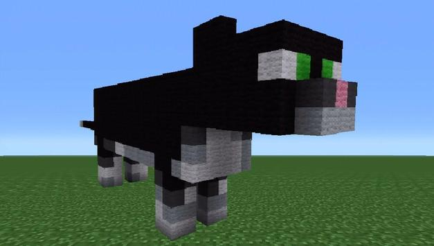 how to make a cat sit in minecraft pe