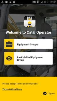 Cat® Operator poster