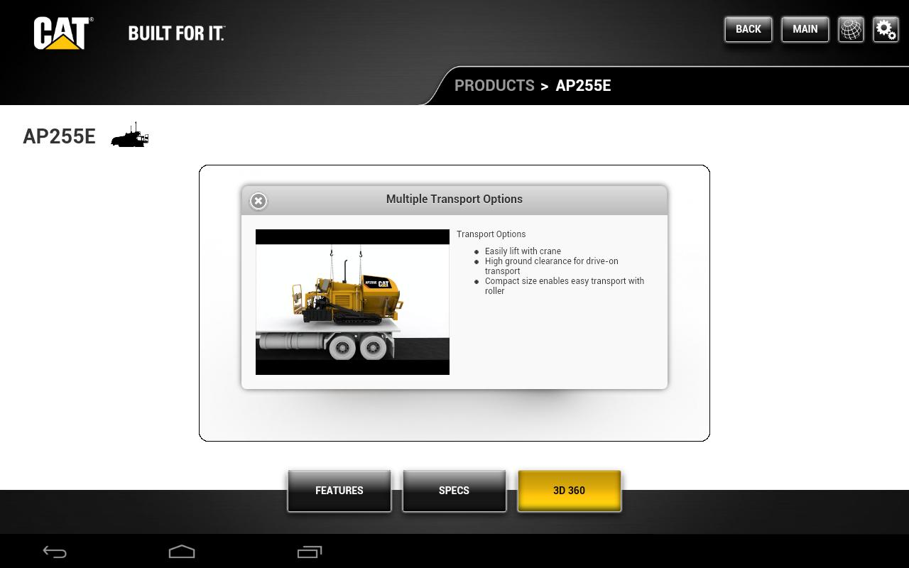 Caterpillar Paving CORE for Android - APK Download