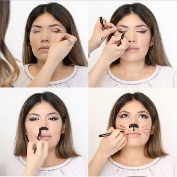 Cat Makeup Tutorial screenshot 4