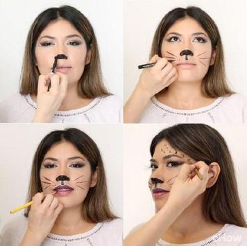 Cat Makeup Tutorial screenshot 5