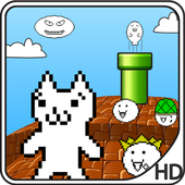 Cat MeOUCHio : Syobon Action HD for Android icon