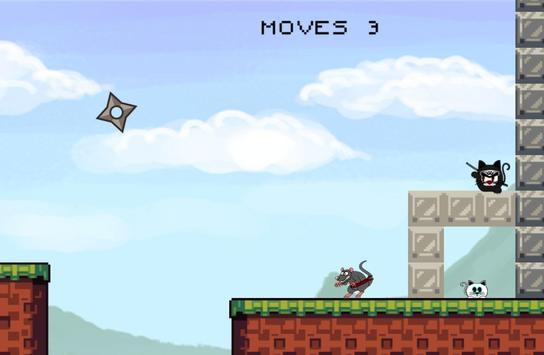 CAT MEOW NINJA apk screenshot