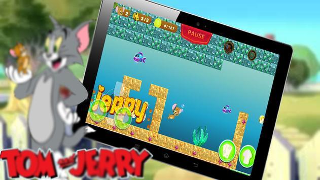 Jerry Amazing Run jungle adventure screenshot 2
