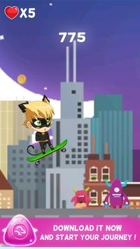 🐱 Super Pet Chat Noir - Chibi screenshot 3