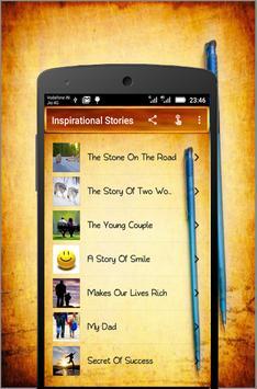 Inspirational Stories screenshot 1
