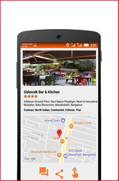 Refo - Restaurant Finder screenshot 1