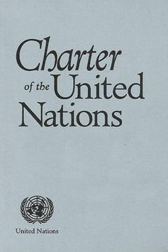 CHARTER OF THE UNITED NATIONS poster