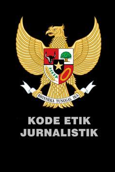 KODE ETIK JURNALISTIK poster