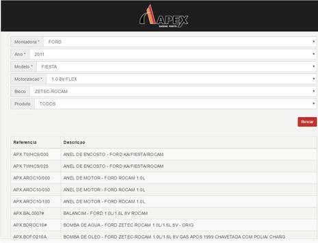APEX - Catalogo de Aplicações screenshot 3