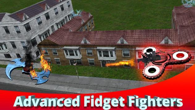 Flying Finger Spinner 3D screenshot 1