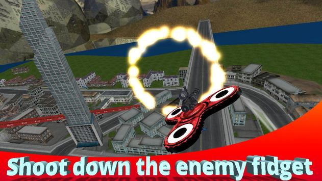Flying Finger Spinner 3D screenshot 2