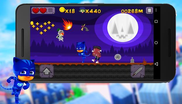 PJ Masks vs Zombie  🍀🍀 apk screenshot