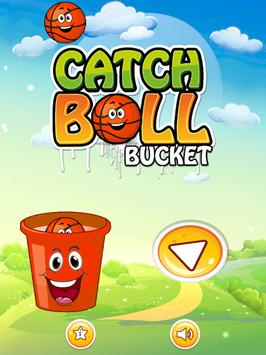 Catch Ball Bucket poster