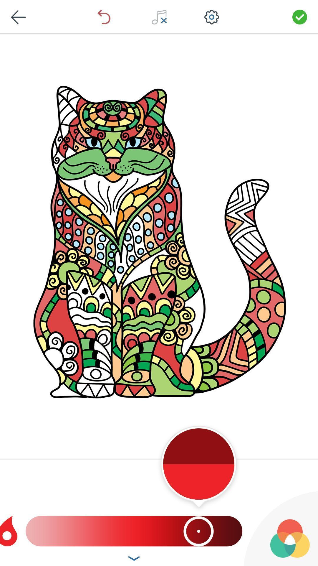 Download 64+  Gambar Mewarnai Kucing Imut Paling Bagus Gratis