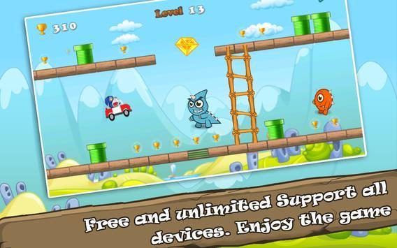 Cat Adventure Run screenshot 2