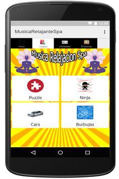 Musica Relajante spa para Escuchar y Meditar Zen apk screenshot