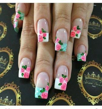 Uñas Decoradas Con Flores Diseños Uñas Con Flores Für