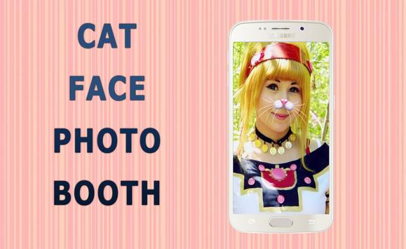 Cat Face Editor Camera poster