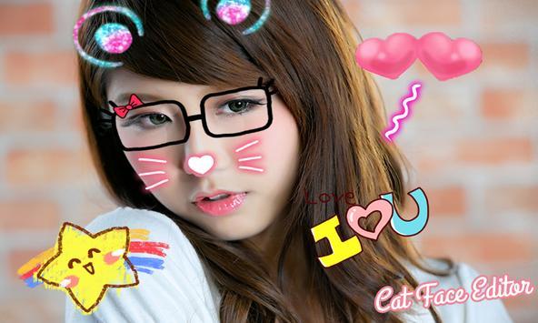 Cat Face Photo Filter poster
