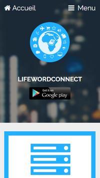 Lifewordconnect poster