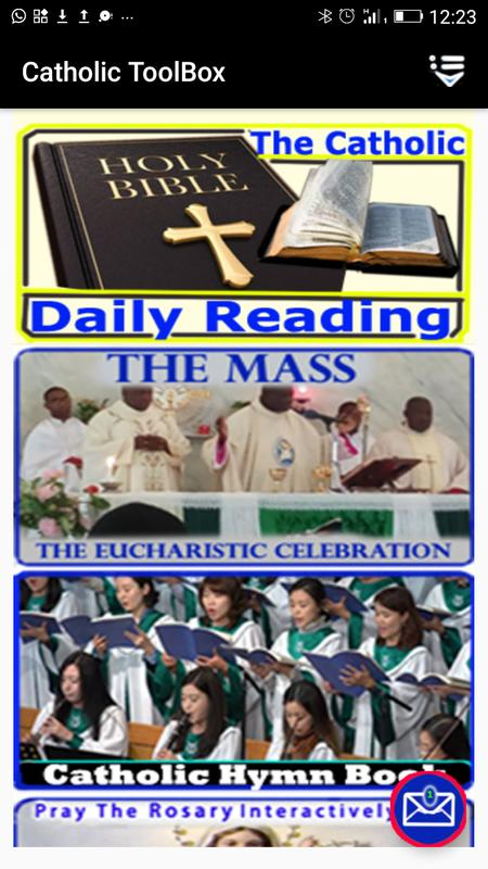 catholic daily readings (audio, offline, + hymns) for android - apk