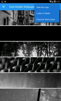Dark Wallpaper Plus screenshot 1