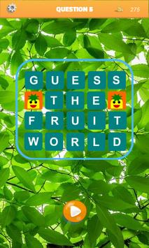 Guess the Fruit World poster