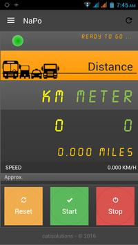 Mobile Taxi Meter, Auto Meter poster