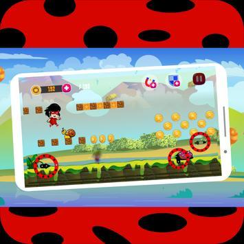 Ladybup miraculous Catkissing apk screenshot