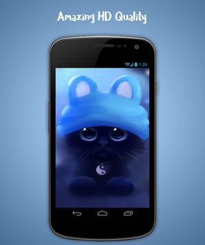 Cat Live Wallpaper screenshot 2