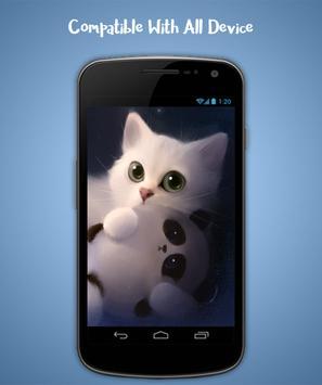 Cat Live Wallpaper screenshot 3